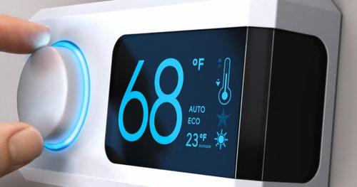 thermostat connecté réglage